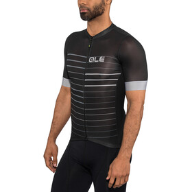 Alé Cycling Solid Ergo SS Jersey Herren black-grey